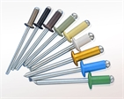 Chinese Factory Body and Mandrel Aluminum Open End Blind Rivets